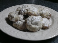 Authentic Mexican Wedding Cookies